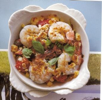 Prawn, Feta and Tomato Casserole