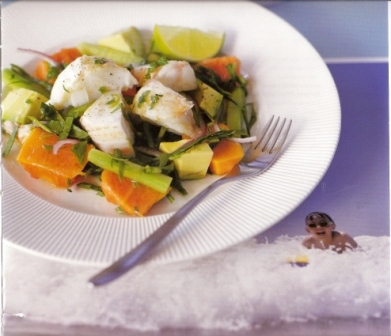 Crayfish Summer Salad