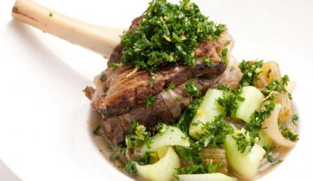 Lamb Shanks with Gremolata