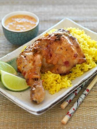 AYAM PERCIK – Spicy Barbequed Chicken