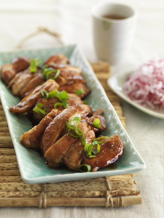 Chicken Thighs with Homemade Teriyaki Sauce
